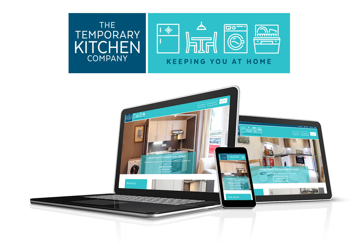 New branding and website unveiled for The Temporary Kitchen Company